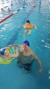 ДОЛГОЖДАННОЕ третье занятие в бассейне ЛУЧ