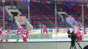Большая благодарность от наших семей хоккейному клубу ЦСКА