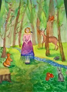 Приглашение на конкурс рисунка на тему ЭКОЛОГИЯ