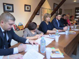 Заседание Общественной палаты Серигиево-Посадского района нового созыва