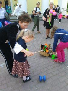Наш замечательный праздник к Дню защиты детей.