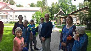 8 Июля праздничный день наши семьи дружно отметили в Музейном комплексе Абрамцево