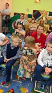 Поздравляем наших первоклассников и многодетные семьи с началом учебного года