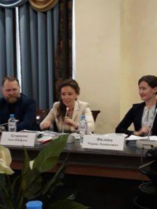 Отчетная конференция Ассоциации Организаций Защиты Семей пр приглашению Марии Леонидовны Филиной