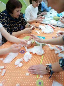 Мастер-класс по изготовлению ватной игрушки