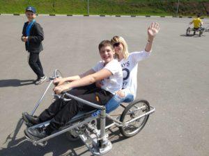 Занятия адаптивной физкультурой для детей с инвалидностью