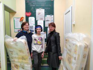 Благодарим отдел Благотворительности Свято-Троицкой Сергиевой лавры за помощь новыми детскими кроватками