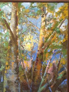 Посещение выставки художника Александра Дроздовского
