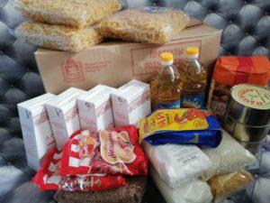 Помощь продуктовыми наборами от Губернатора МО