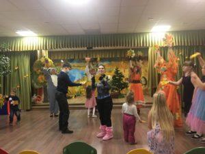 Осенний праздник в Детской школе искусств им. Е.Д. Поленовой