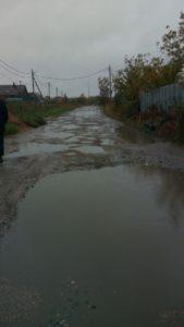 Голосуем за ремонт дороги к Мишутинской церкви